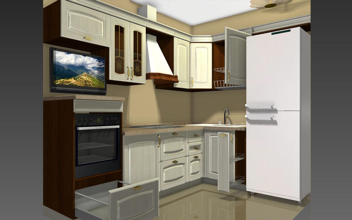 Варианты дизайн проектов кухни