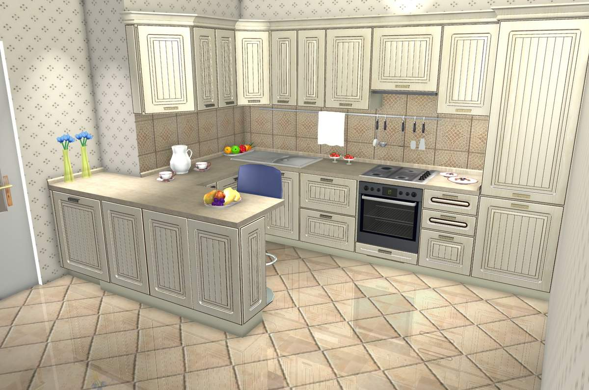 Дизайн кухни студии фото 20 кв.м