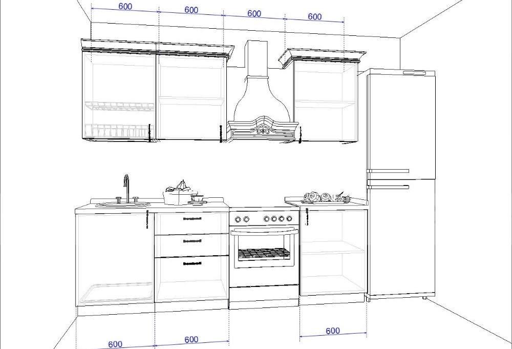 Как заказать кухню. Модель Ванесса